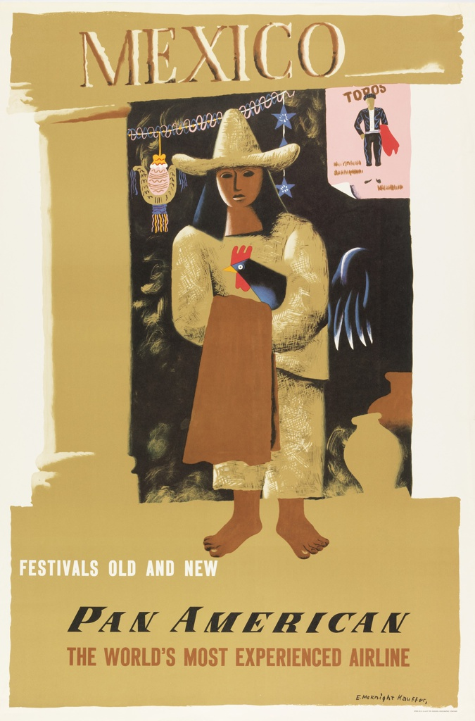 Poster, Mexico, Festivals Old and New