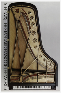 Poster, Piano, Steinway and Sons