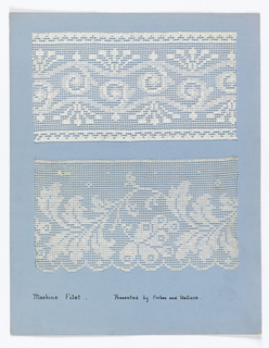 Maufacturer's Lace Sample Books (USA)