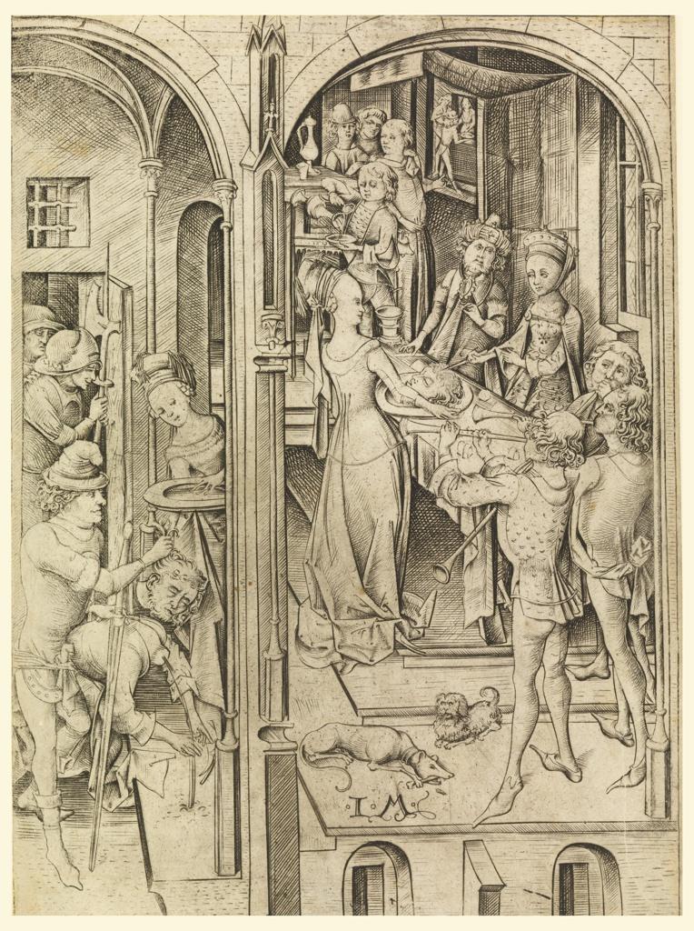 Print, The Beheading of John the Baptist