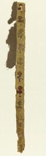 Bird motif.