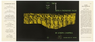 Book Cover, The Hero with a Thousand Faces by Joseph Campbell