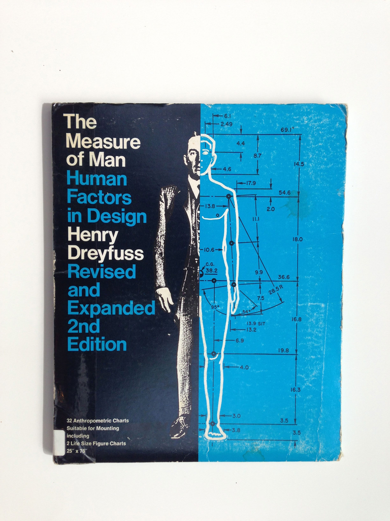 Book, The Measure of Man: Human Factors in Design, 1969