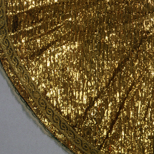 Cape For An Ecclesiastical Figurine