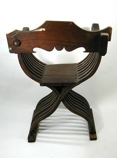FoldingX-frame  arm chair
