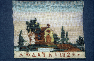 Embroidered Picture (Italy)