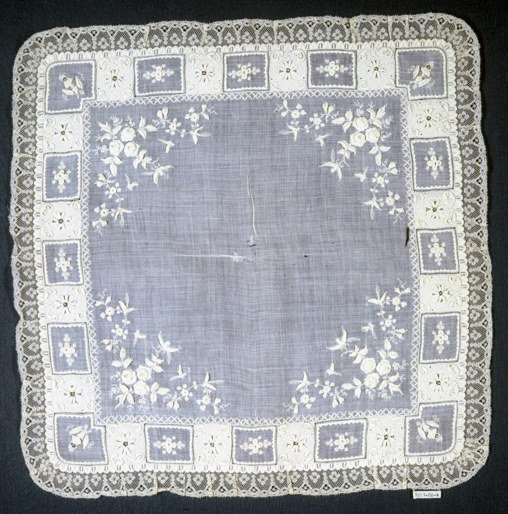 Handkerchief, late 19th century