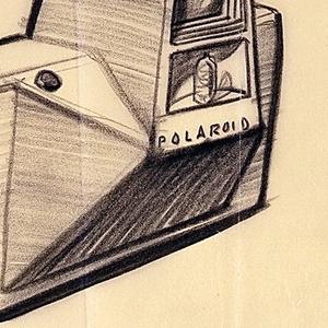 Drawing, Design for a Single Lens Reflex Camera (Wareham) for Polaroid