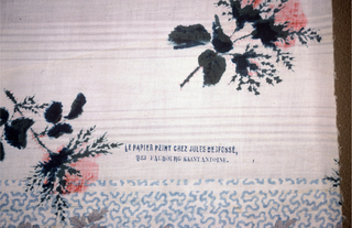 Textile, mid-19th century
