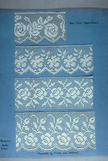 Machine-made Openwork Samples (USA)