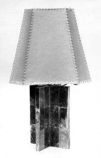 Lamp, Base And Shade