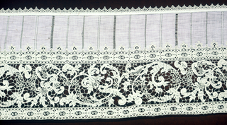 Lace Border, late 19th century