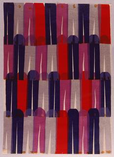 Collage, Textile Design: Clothespins