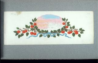 Drawing, Designs for Souvenir Fans for the 1867 Paris Exposition Universelle, 1866–67