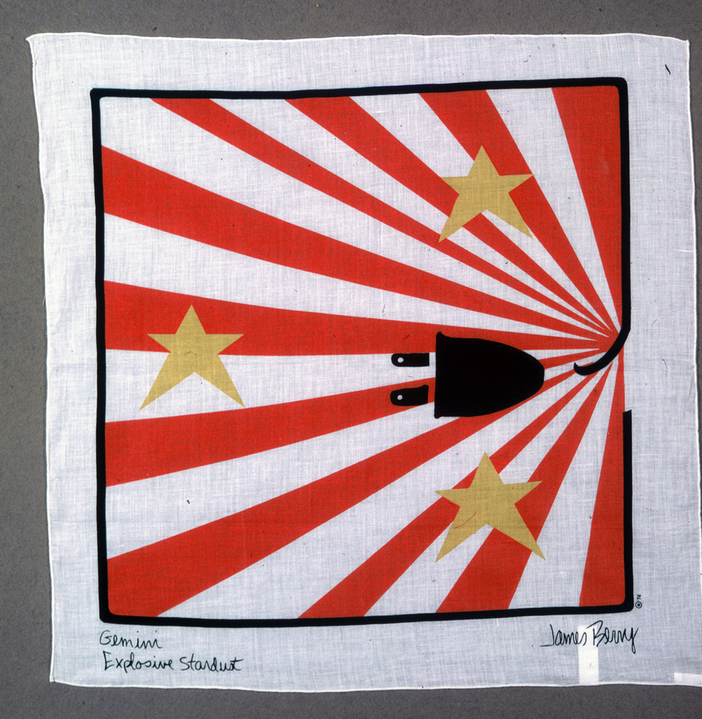 Commemorative Scarf, Gemini Explosive Stardust