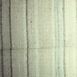 Vertical stripes of varying widths in shades of light brown and off-white.