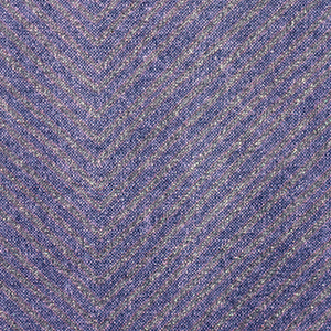 Large geometric with deep purple and deep green ground.