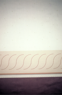 Textile, Scroll, 1980s