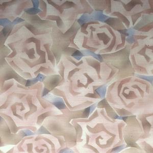 Stylized roses.