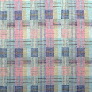 Complex plaid in pinks and torquoise