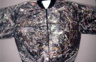 Warm-up jacket made of fabric sheet 1991-14-2.
