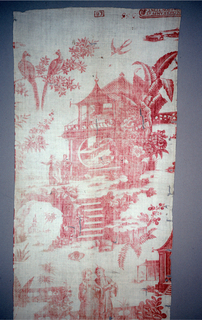 Textile With Factory Stamp (France)