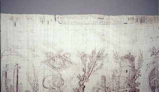 Textile With Chef De Piece, Dianne Chasseresse