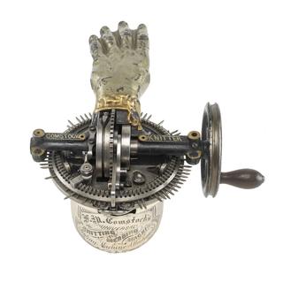 Patent Model For A Knitting Machine, Patent No. 125,543 (USA)