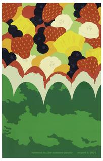 Poster, Herman Miller, Summer Picnic, August 5, 1977