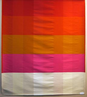 Color Blanket, Weaving Palettes