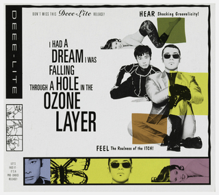 CD Case, Deee-light / I Had a Dream I Was Falling Through a Hole in the Ozone Layer