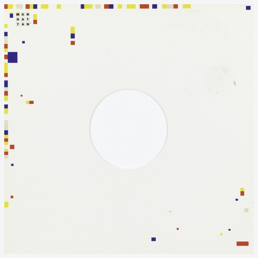 Album Sleeve, Manhattan Records