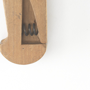 Patent Model For A Clothespin, Patent 76,547 (USA), April 7, 1868