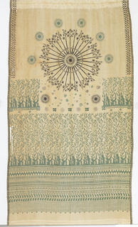 Curtain (Italy), late 19th century