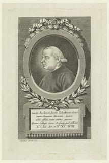 Print, Portrait of Joseph Zola (1739-1806)