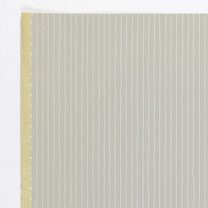 Thin white slightly wavy lines running vertically on gray ground.