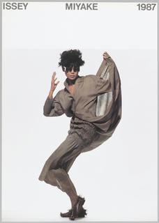 Poster, Issey Miyake 1987