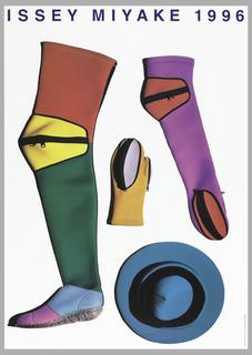 Poster, Issey Miyake 1996