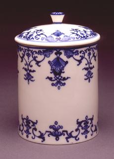 Pot à fard (Toilet Jar) Pommade Pot And Lid