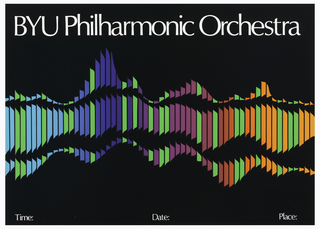Poster, BYU Philharmonic Orchestra