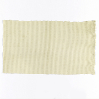Sample of camouflage netting in white. Material used in World War 2.