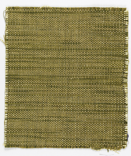 Square for a screen or wallcovering in gold and green.