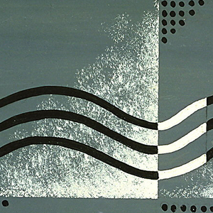 Drawing, Textile Design: Wavy Lines