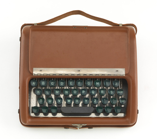 Tellatouch Braille Writer (USA), Designed ca. 1945 and manufactered ca. 1952