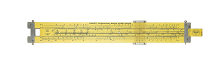 Pickett N1010-ES Trig Duplex Demonstration Slide Rule (USA), ca. 1960