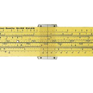 Pickett N1010-ES Trig Duplex Demonstration Slide Rule (USA), ca. 1960