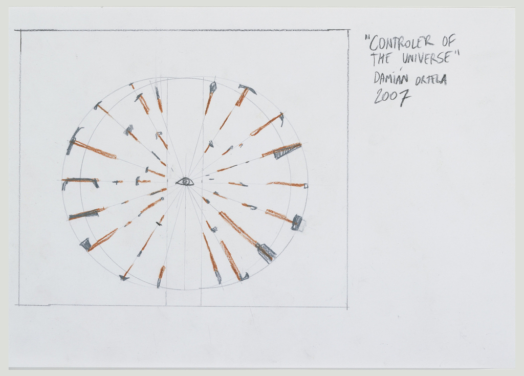 Drawing, Controller of the Universe, 2007