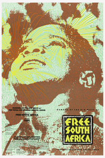Poster, Free South Africa