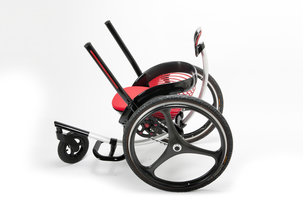 Prototype, off-road wheelchair