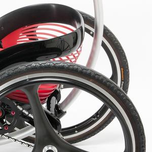 Prototype, off-road wheelchair